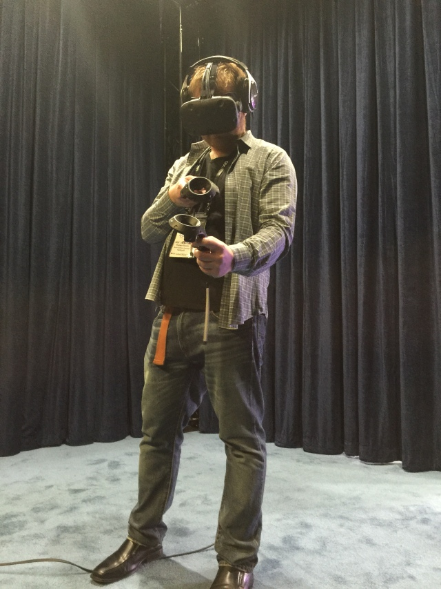 HTC Vive at GDC